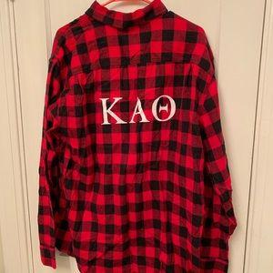 Kappa Alpha Theta flannel